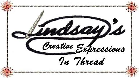 LINDSAY'S CREATIVE EXPRESSIONS IN THREAD - A varied assortment of high quality machine embroidery ...